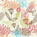 Seamless Floral Pattern at Crestock.com
