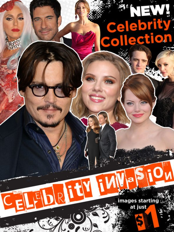 Celebrity Collection on Crestock.com