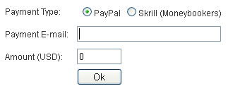Payout options