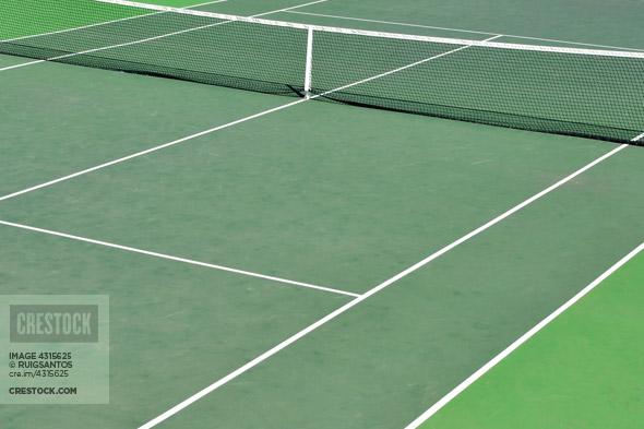 Tennis Court Wallpaper