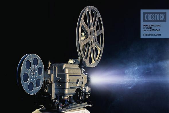 Cinema Projector Wallpaper